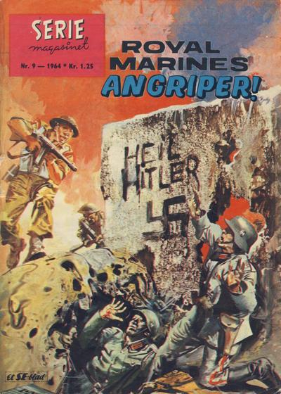 Cover for Seriemagasinet (Serieforlaget / Se-Bladene / Stabenfeldt, 1951 series) #9/1964