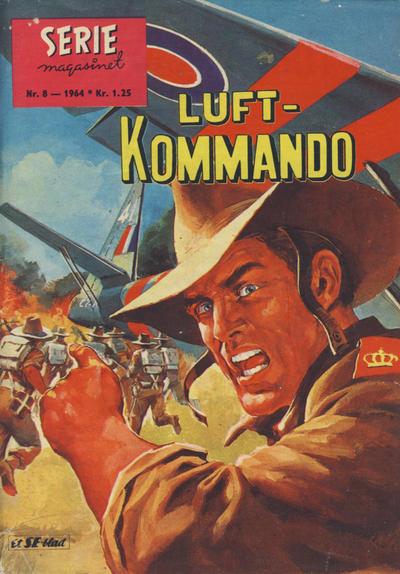 Cover for Seriemagasinet (Serieforlaget / Se-Bladene / Stabenfeldt, 1951 series) #8/1964