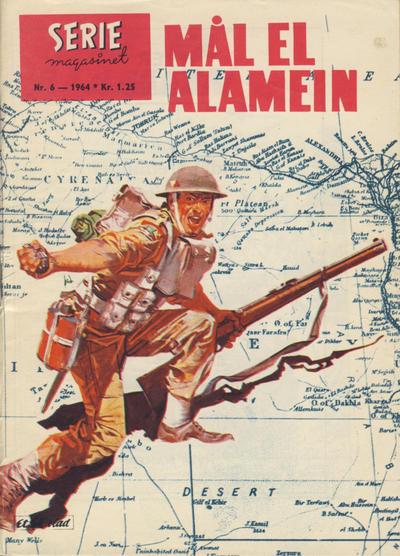 Cover for Seriemagasinet (Serieforlaget / Se-Bladene / Stabenfeldt, 1951 series) #6/1964
