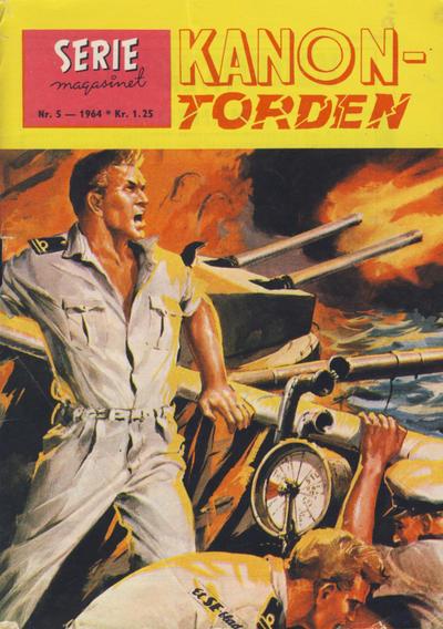 Cover for Seriemagasinet (Serieforlaget / Se-Bladene / Stabenfeldt, 1951 series) #5/1964