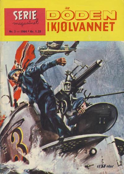 Cover for Seriemagasinet (Serieforlaget / Se-Bladene / Stabenfeldt, 1951 series) #3/1964