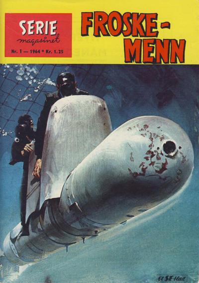 Cover for Seriemagasinet (Serieforlaget / Se-Bladene / Stabenfeldt, 1951 series) #1/1964