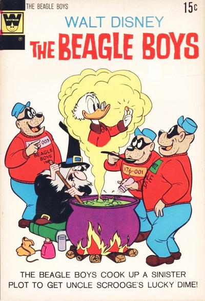 Cover for Walt Disney The Beagle Boys (Western, 1964 series) #14 [Gold Key Variant]
