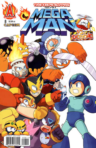 Cover for Mega Man (Archie, 2011 series) #8