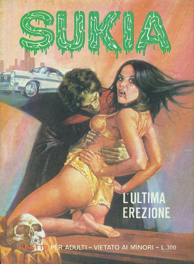 Cover for Sukia (Edifumetto, 1978 series) #6