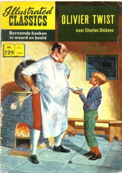 Cover for Illustrated Classics (Classics/Williams, 1956 series) #129 - Olivier Twist