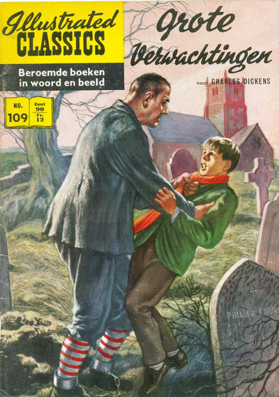 Cover for Illustrated Classics (Classics/Williams, 1956 series) #109 - Grote verwachtingen