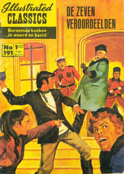 Cover for Illustrated Classics (Classics/Williams, 1956 series) #191 - De zeven veroordeelden