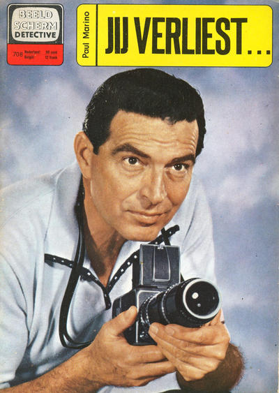 Cover for Beeldscherm Detective (Classics/Williams, 1962 series) #708