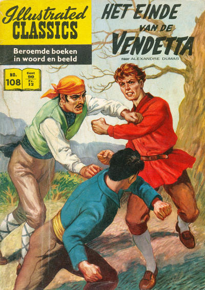 Cover for Illustrated Classics (Classics/Williams, 1956 series) #108 - Het einde van de vendetta