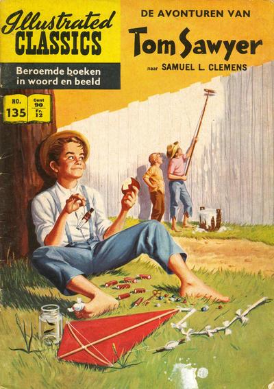 Cover for Illustrated Classics (Classics/Williams, 1956 series) #135 - De avonturen van Tom Sawyer