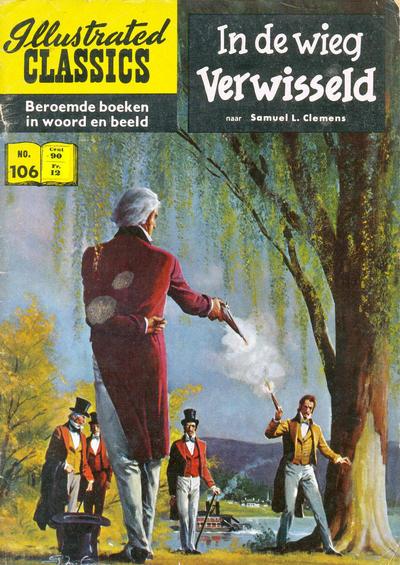 Cover for Illustrated Classics (Classics/Williams, 1956 series) #106 - In de wieg verwisseld [Prijssticker editie]