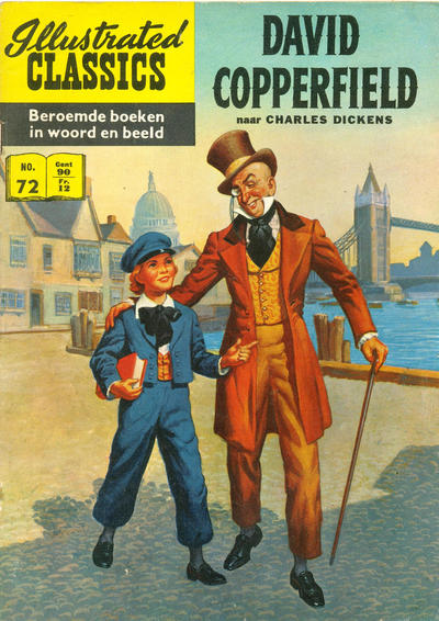 Cover for Illustrated Classics (Classics/Williams, 1956 series) #72 - David Copperfield [HRN 134]