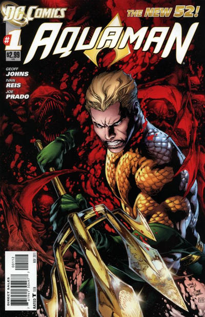 Cover for Aquaman (DC, 2011 series) #1