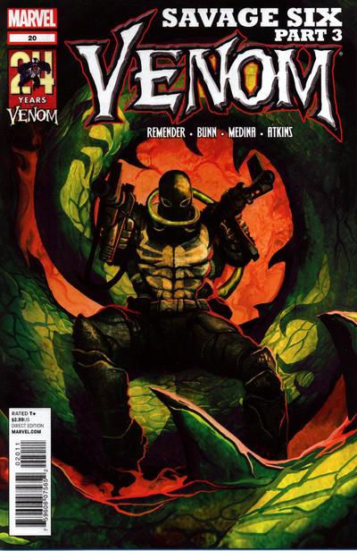 Cover for Venom (Marvel, 2011 series) #20