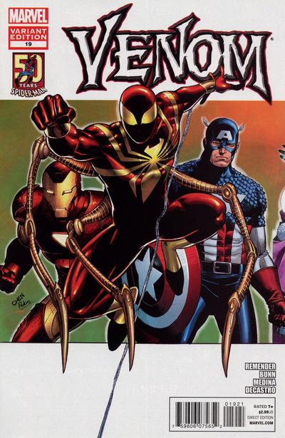 Cover for Venom (Marvel, 2011 series) #19