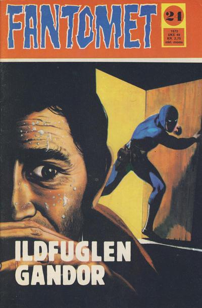 Cover for Fantomet (Romanforlaget, 1966 series) #24/1972