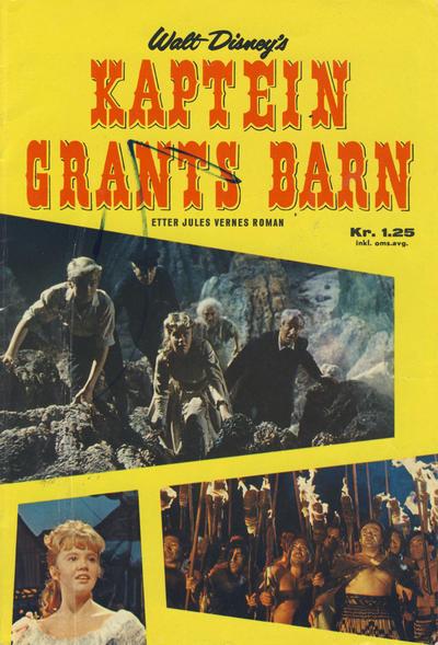 Cover for Walt Disney's Kaptein Grants barn (Hjemmet / Egmont, 1964 series)