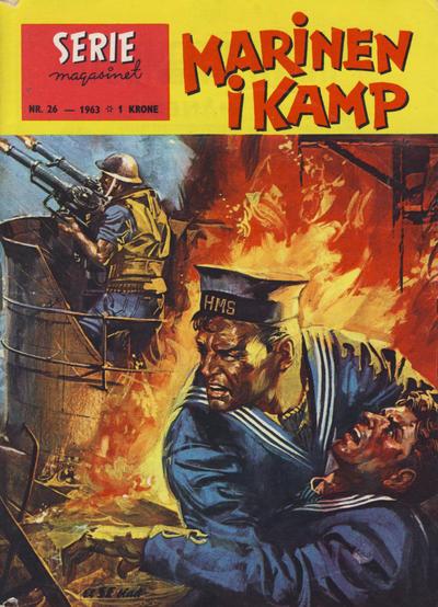 Cover for Seriemagasinet (Serieforlaget / Se-Bladene / Stabenfeldt, 1951 series) #26/1963