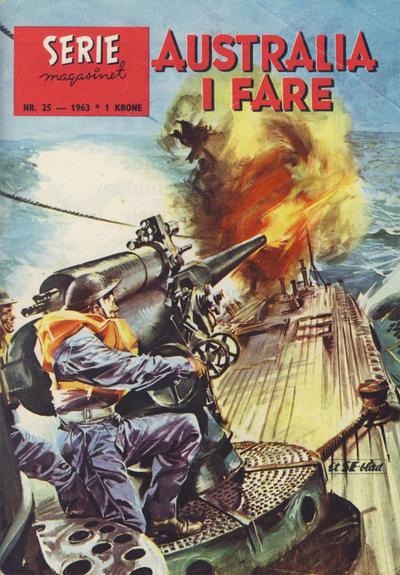 Cover for Seriemagasinet (Serieforlaget / Se-Bladene / Stabenfeldt, 1951 series) #25/1963