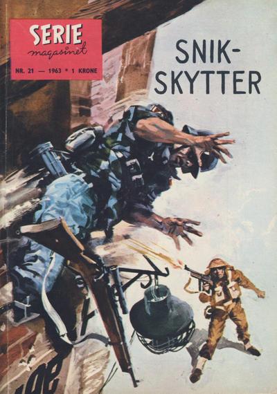 Cover for Seriemagasinet (Serieforlaget / Se-Bladene / Stabenfeldt, 1951 series) #21/1963