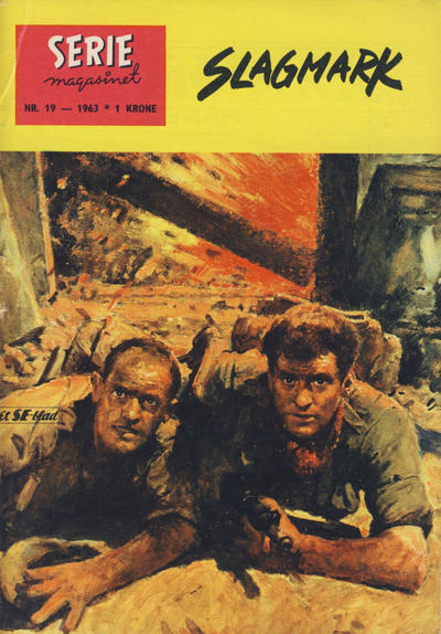 Cover for Seriemagasinet (Serieforlaget / Se-Bladene / Stabenfeldt, 1951 series) #19/1963