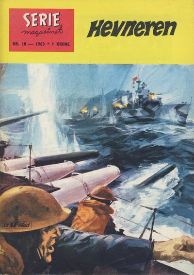 Cover for Seriemagasinet (Serieforlaget / Se-Bladene / Stabenfeldt, 1951 series) #18/1963