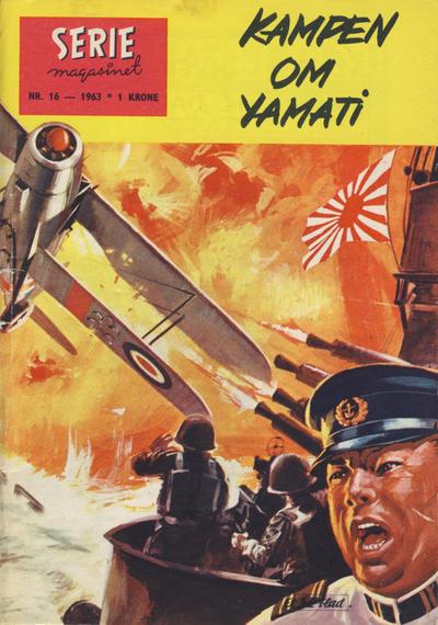 Cover for Seriemagasinet (Serieforlaget / Se-Bladene / Stabenfeldt, 1951 series) #16/1963