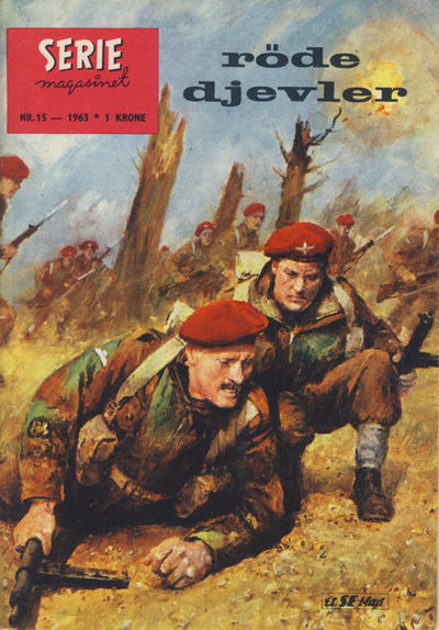 Cover for Seriemagasinet (Serieforlaget / Se-Bladene / Stabenfeldt, 1951 series) #15/1963