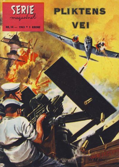 Cover for Seriemagasinet (Serieforlaget / Se-Bladene / Stabenfeldt, 1951 series) #14/1963
