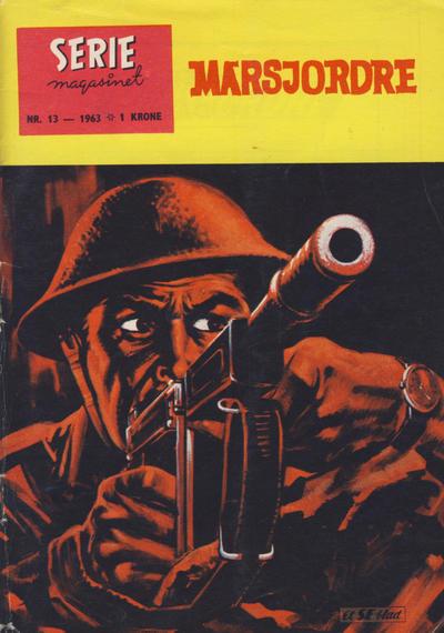 Cover for Seriemagasinet (Serieforlaget / Se-Bladene / Stabenfeldt, 1951 series) #13/1963