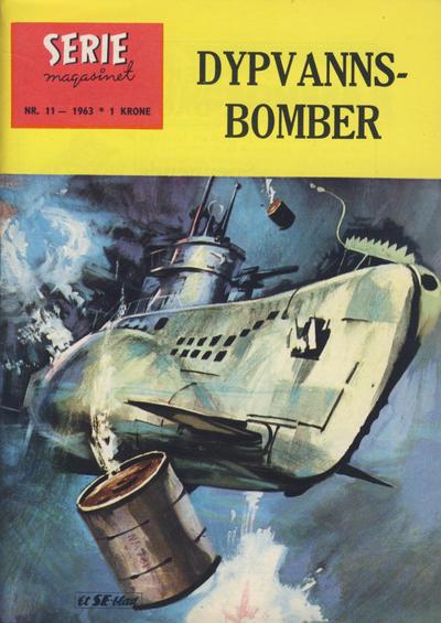 Cover for Seriemagasinet (Serieforlaget / Se-Bladene / Stabenfeldt, 1951 series) #11/1963