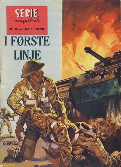 Cover for Seriemagasinet (Serieforlaget / Se-Bladene / Stabenfeldt, 1951 series) #10/1963