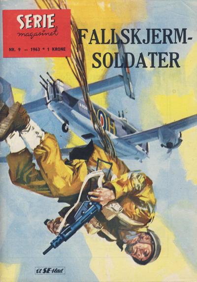 Cover for Seriemagasinet (Serieforlaget / Se-Bladene / Stabenfeldt, 1951 series) #9/1963