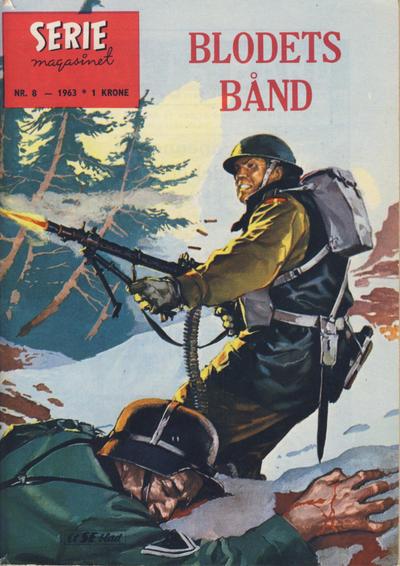 Cover for Seriemagasinet (Serieforlaget / Se-Bladene / Stabenfeldt, 1951 series) #8/1963