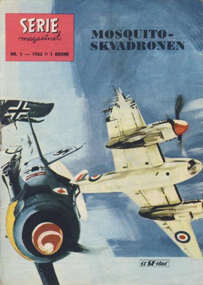 Cover for Seriemagasinet (Serieforlaget / Se-Bladene / Stabenfeldt, 1951 series) #7/1963