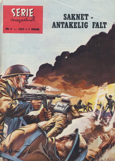 Cover for Seriemagasinet (Serieforlaget / Se-Bladene / Stabenfeldt, 1951 series) #6/1963