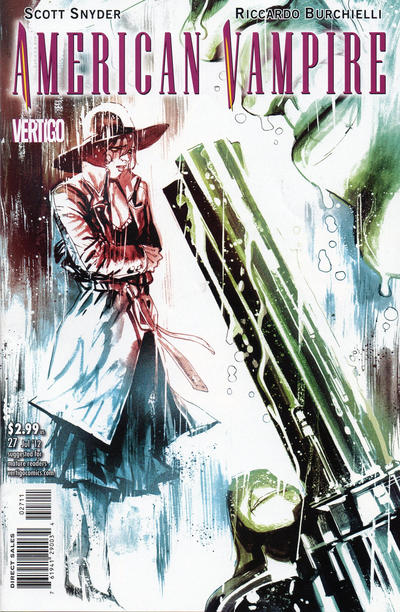 Cover for American Vampire (DC, 2010 series) #27