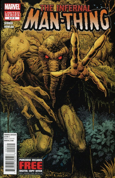 Cover for Infernal Man-Thing (Marvel, 2012 series) #2
