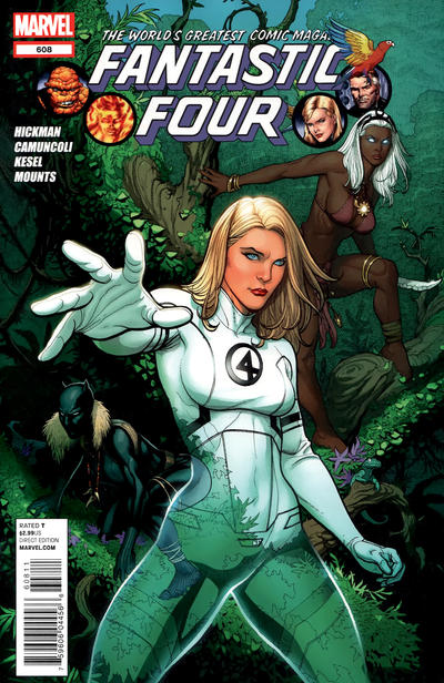 Cover for Fantastic Four (Marvel, 2012 series) #608