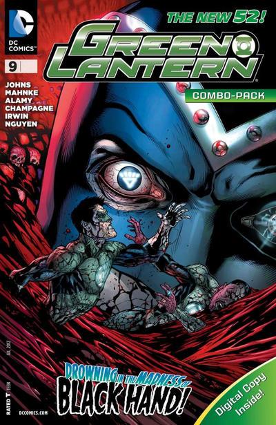 Cover for Green Lantern (DC, 2011 series) #9 [Doug Mahnke Sketch Cover]