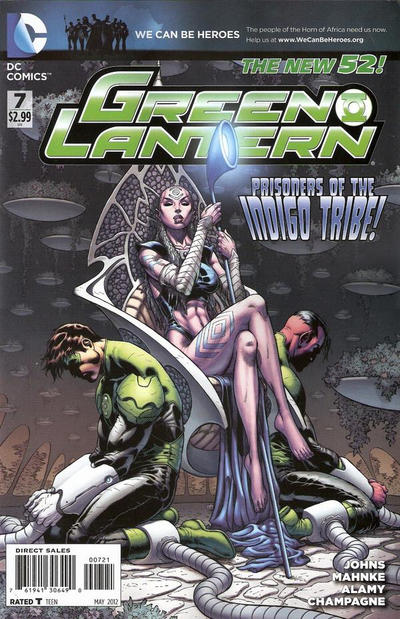 Cover for Green Lantern (DC, 2011 series) #7 [Ian Churchill Cover]