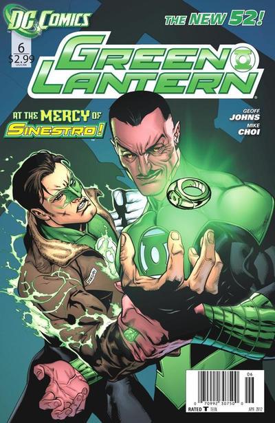 Cover for Green Lantern (DC, 2011 series) #6 [Doug Mahnke Sketch Cover]