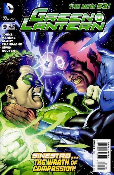 Cover for Green Lantern (DC, 2011 series) #9 [Gary Frank Cover]