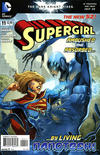 Cover for Supergirl (DC, 2011 series) #11