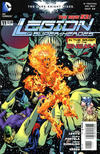 Cover for Legion of Super-Heroes (DC, 2011 series) #11