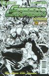 Cover for Green Lantern (DC, 2011 series) #3 [Doug Mahnke Black & White Cover]