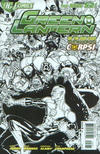 Cover for Green Lantern (DC, 2011 series) #3 [Mahnke Sketch Variant Cover]
