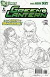 Cover Thumbnail for Green Lantern (2011 series) #6 [Doug Mahnke Sketch Cover]