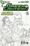 Cover for Green Lantern (DC, 2011 series) #6 [Mahnke Sketch Variant Cover]